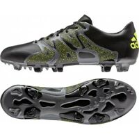 adidas X 15.1 FG/AG Leather Size 6 Black RRP £155 BNIB B26978 ONE PAIR ONLY
