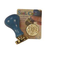 Manuscript Decorative Wax Sealing 25mm Coin Seal - Butterflies and Hearts