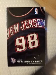 New Jersey Nets 1998-99 Media Guide Paperback Book