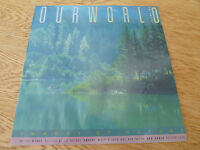 OUR WORLD 2 1990 AUSTRALIA CANADA SWEDEN UK UN USA IMAGES OF NATURE BOOK STAMPS