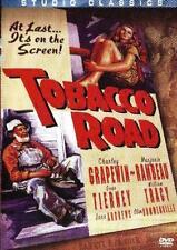 Tobacco Road (1941) Charley Grapewin, Gene Tierney, Marjorie Rambeau NEW DVD