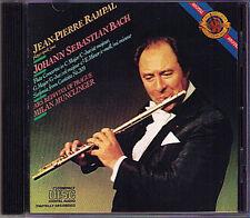 Jean-Pierre Rampal: Bach Flute Concerto MILAN munclinger CD CBS 1984 flauto