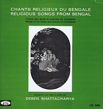LP INDIA SONGS OF THE BAULS AND POEMS OF CHANDIDAS BHATTACHARYA