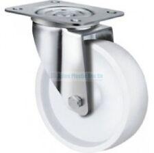 Wheel & Castor - 100mm Swivel  - Stainless Steel- Heavy Duty