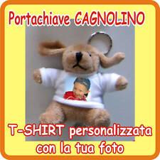 """PORTACHIAVI """"CAGNOLINO"""" PERSONALIZZATO CON LA TUA FOTO!"""