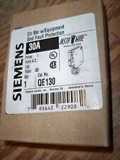 Siemens ITE QE130 circuit breaker EPD Equipment protection Murray new warranty!