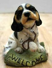 COUNTRY ARTISTS PUPPIES - COCKER SPANIEL FIGURINE ON MAT WITH LEAD, ITEM 2255