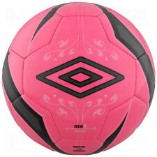Umbro Neo 2012 Training Soccer Ball Pink/Black/Silver Brand NEW Size 5