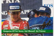 Ayrton Senna Formula One F1 Racing Card