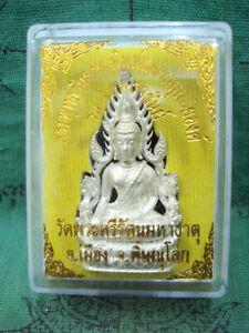 Phra Phuttha Chinnarat Statue Talisman Magic Luck Holy Thai Buddha Amulet