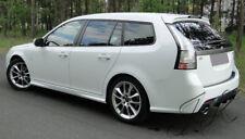 Saab 93 Facelift (2007+) Estate - Rear Diffuser Lip Bumper Spoiler Add On