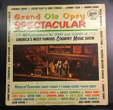 Grand Ole Opry Spectacular 2LP Signed by John Western VG+