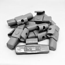 Tire Wheel Balancing Weights AW Type Clip On .75 oz pieces 50 pcs bag