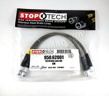 STOPTECH STAINLESS STEEL BRAIDED FRONT BRAKE LINES FOR 93-02 CHEVROLET CAMARO
