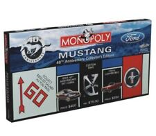 Monopoly Ford Mustang 40th Anniversary Collector's Edition 2004 NEW