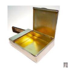 European Original Sterling Silver Antiques Boxes
