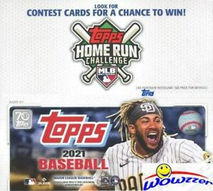 2021 Topps Series 2 Baseball MASSIVE Factory Sealed 24 Pack Retail Box-384 Cards