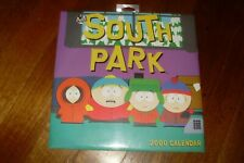 Collectable Vintage 2000 'South Park' Wall Calendar -Comedy Central -NEW -SEALED