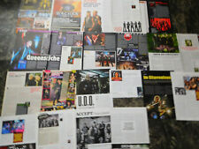 ACCEPT + UDO SOLLO  57  TEILE/PARTS   CLIPPINGS  LOT   0119