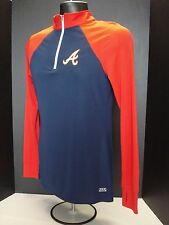 Atlanta Braves Womens Majestic Lightweight Pullover - MSRP $50 - FREE SHIPPING!