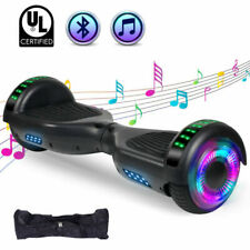 Black Bluetooth Hoverboard with Bag Led Light Balance Scooter Ul2272 Certified