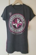 AFFLICTION LIVE FAST WOMEN'S CREW NECK T-SHIRT SIZE SMALL COLOR GRAY NWT