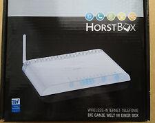 D-Link 54Mbit/s, 4x 10/100 Mbit/s, Wireless G Router (DVA-G3342SD/DE), Horst Box