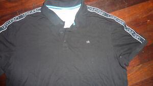CALVIN KLEIN Mens polo top size XXL suprima cotton