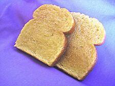 Wax Toast, Fake Wax Food, Food Prop, Decor, 3 pcs
