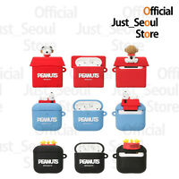 Official Peanuts Snoopy Figure Jelly Airpods Case Cover 3 Options+Free Tracking