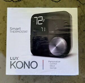 LUX KONO Smart Thermostat KN-S-MG1-B04 **NEW and SEALED**