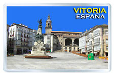 VITORIA GASTEIZ SPAIN FRIDGE MAGNET SOUVENIR IMAN NEVERA