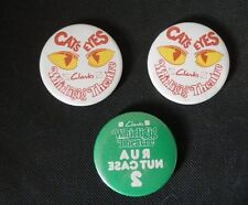 CLARKS Whirligig Theatre 3 Pin Badges