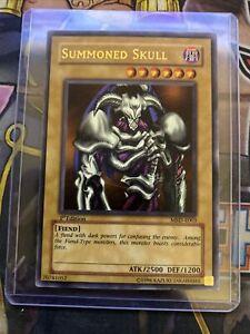 Yugioh - Summoned Skull - 1st Edition - MRD-E003 - Ultra Rare