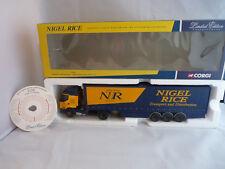 Corgi 75605 'Nigel Rice' Limited Edition Renault curtainside