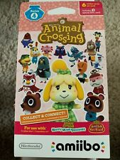 Amiibo Animal Crossing Cards Series 4 (1 Pack of 6 Cards) BRAND NEW UNSCANNED