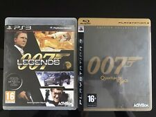 2 Jeux James Bond 007 PlayStation 3 PS3 / 007 Legends / 007 Quantum Of Solace