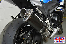 Suzuki GSXR1000 12-16 L2-L6 SP Engineering Carbono Tri-oval gran diámetro XLS de escape