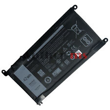 42WH WDX0R Battery for Dell 13 5368 7368 15 5567 5568 7560 14 7460 17 5767