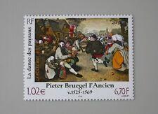 France 2001 3369 neuf luxe ** musée imaginaire tableau pieter bruegel l'ancien