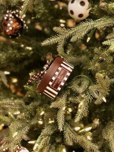 Henri Bendel New York Empty Mini Hat Box Brand New. Can Be Holiday Decor.
