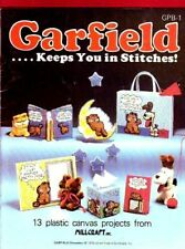 PAA41    Garfield ... Keeps You in Stitches 13 Plastic Canvas Projects Booklet