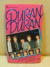 1984 Duran Duran Behind The Scenes Biography By Cynthia Kent