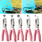 Hand Punch Cushion Comfort Ergonomic Soft Grip Paper Hole Puncher Plier Craft