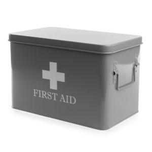 First Aid Storage Box | M&W Grey