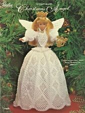 Christmas Angel Paradise Crochet Collector Costume Fashion Doll Pattern