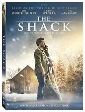 THE SHACK DVD - SINGLE DISC EDITION - NEW UNOPENED - SAM WORTHINGTON