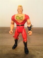 VINTAGE 1993 TYCO DOUBLE DRAGON JIMMY LEE ACTION FIGURE / VINTAGE VIDEO GAME