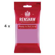 1 Kg Renshaw Ready Roll Icing Fondant Cake Regalice Sugarpaste DUSKY LAVENDER