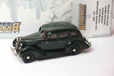 BROOKLIN BRK 102 1936 HUDSON TERRAPLANE CUSTOM 6-62 4 DOOR SEDAN MONTANA GREEN